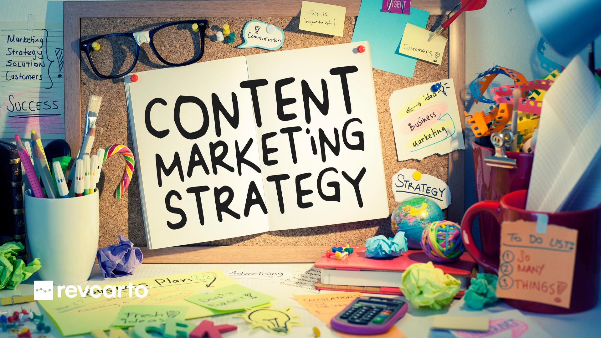 Content Marketing Strategy Revcarto