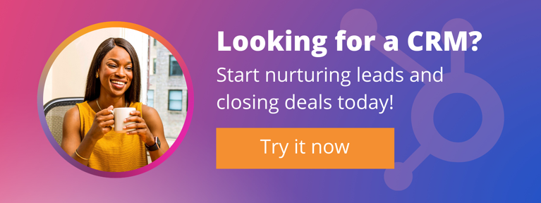 Click this button to get a free demo HubSpot!